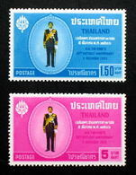Thailand Stamp 1963 36th Birthday King Bhumipol - Thailand