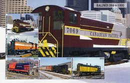 Locomotives  -  Baldwin DS4-4-1000   -  5v Feuillet Mint/Neuf/MNH Imperf/Non Dentelé - Trains