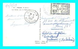 A807 / 093 Timbre Seul N° 1198 Sur Carte WISSANT Cachet Quiberon - Postmark Collection (Covers)