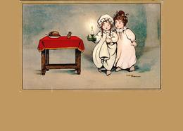 Carte 1920 Signée ETHEL PARKINSON / FILLETTE - SOURIS - Parkinson, Ethel