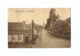 Doel   Kerkstraat.  Rue De L'Eglise  (1901). - Beveren-Waas
