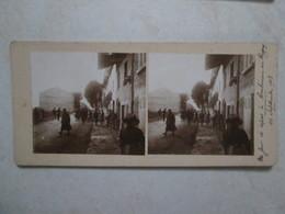 Un Jour De Repos A Ambérieu-en-bugey 1913 - Photos Stéréoscopiques