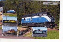 Locomotives  -  EMD F-45  -  5v Feuillet Mint/Neuf/MNH Imperf/Non Dentelé - Trains
