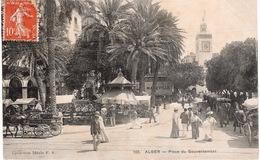 ALGER-  PLACE DU GOUVERNEMENT - Alger
