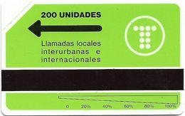 Argentina - Telefónica - URMET - Isologo De Telefónica, 200U, 5.000ex, Mint - Argentina