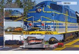Locomotives  -  EMD BL2  -  5v Feuillet Mint/Neuf/MNH Imperf/Non Dentelé - Trains