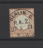 ALLEMAGNE .  YT  N° 18  Obl  1872 - Gebraucht