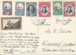 SAN MARINO  -  1938 ,  AK Nach Düsseldorf - San Marino