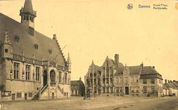 CPA - Belgique - Damme - Grand'Place - Damme