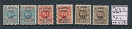LITHUANIA MEMEL YVERT 107/112 LH - Litouwen