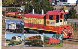 Locomotives  -  EMD NW2  -  5v Feuillet Mint/Neuf/MNH Imperf/Non Dentelé - Trains
