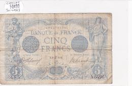 Billet De 5 Francs Bleu Du 30/06/1915 CANCER - A.6496 Alph 485 @ N° Fayette : 2.28 - 1871-1952 Circulated During XXth