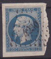 """FRANCE : PC 4230 . """" LA ROCHETTE """" . (88) . N° 14 . TB . SUR FGT .  ( CATALOGUE MATHIEU ) . - Marcophily (detached Stamps)"""