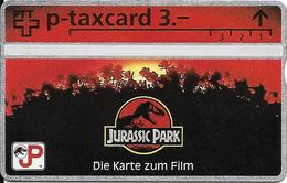 Switzerland: PTT KP-93/144 329L Jurassic Park - Die Karte Zum Film - Svizzera