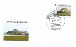 SPAIN. COVER PEÑISCOLA CASTLE - 1931-Hoy: 2ª República - ... Juan Carlos I