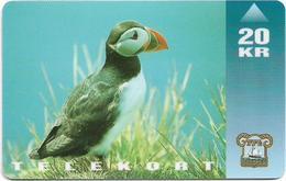 Faroe - Puffin Bird - 20Kr. - 15.000ex, Used - Faroe Islands