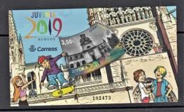 51.- SPAIN ESPAGNE 2019 MINUATURE SHEET JUVENIA 2019 BURGOS - 2011-... Ungebraucht