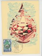 TIMBRES - CHARTE EUROPEENNE DE L'EAU - PARIS - Carte Premier Jour 27/09/1969 - Protection De L'environnement & Climat