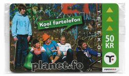 Faroe - Planet.Fo Teenagers - 50Kr. NSB - Faroe Islands