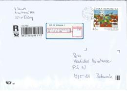 R Envelope With 1054 Czech Republic Ota Janecek, Flora 13-11-2019 First Day Cancel - Tchéquie