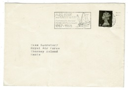 Ref 1332 - 1968 GB House Of Commons Cover - Alec Rose & Lively Lady - Sailing Slogan - 1952-.... (Elizabeth II)