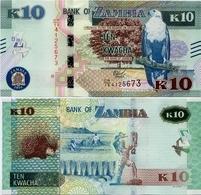 ZAMBIA       10 Kwacha       P-58[b]       2018       UNC - Zambia