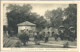 CPA Battambang Vue Des Bureaux De La Résidence Ancienne Habitation Du Phya-Kathathor - Cambodge