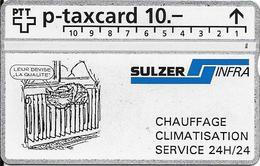 Switzerland: PTT KP-93/147 329L Sulzer Infra Lausanne - Svizzera