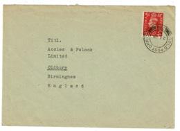 Ref 1332 - 1953 - GB Military Field Post Cover - FPO 754 Vienna Austria - 1952-.... (Elizabeth II)