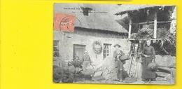 Vieille Ferme Et Ses Habitants (Guionie) Corrèze (19) - Francia