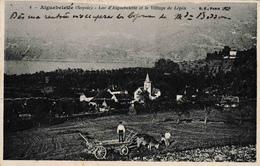 73 Lac D'Aiguebelette Et Le Village De Lépin - Other Municipalities