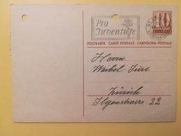 1946 INTERO CARTOLINA POSTCARDS SVIZZERA ANNULLO ST. GALLEN HELVETIA SUISSE POSTKARTE CARTE POSTALE - Interi Postali