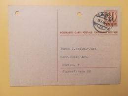 1946 INTERO CARTOLINA POSTCARDS SVIZZERA ANNULLO UZWIL HELVETIA SUISSE POSTKARTE CARTE POSTALE - Interi Postali