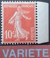 R1189/624 - 1919/1922 - TYPE SEMEUSE CAMEE - N°138fa NEUF** BdF ☛☛☛ Papier X - Cote : 130,00 € - France