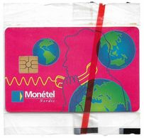 Swaziland - Monetel Nordic Demo Smart Card (Pink), 01.1995, 2.000ex, NSB - Swaziland
