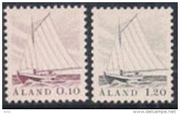 Aland Åland 1985  Fishing Boats, Mi 8-9, MNH(**) - Ålandinseln