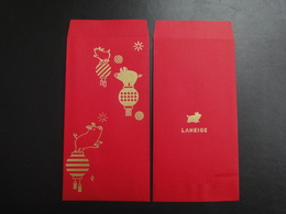 POCHETTE ROUGE DU NOUVEL AN CHINOIS LA NEIGE 2019 - Cartes Parfumées