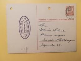1948 INTERO CARTOLINA POSTCARDS SVIZZERA ANNULLO RAPPERSWIL HELVETIA SUISSE POSTKARTE CARTE POSTALE - Interi Postali