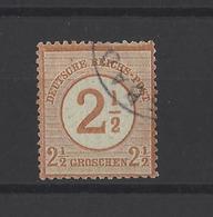 ALLEMAGNE .  YT  N° 28  Obl  1874 - Deutschland