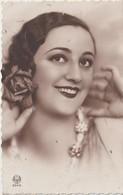 Espagne :  Miss  Espagne  ( Timbre , Confiteria  Palafrugell ) - Espagne