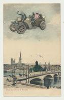 Une Excursion à ROUEN..carte Couleur - Rouen
