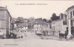 [33] Gironde >  Bourg En Gironde  Avenue Thiers RECHERCHER RARE - Frankrijk
