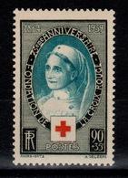 YV 422 N** Croix Rouge Cote 17 Euros - France
