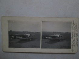 Monoplan N°18 Reims 1913 - Photos Stéréoscopiques