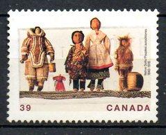 CANADA. N°1144 Oblitéré De 1990. Poupées Canadiennes. - Poupées