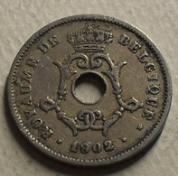 1902 - Belgique - Belgium - 10 CENTIMES, LEOPOLD II, Type Michaux, Légende Belgique, Petite Date, KM 48 - 1865-1909: Leopoldo II