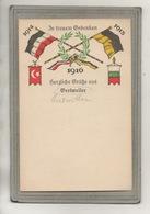 CPA - (67) GERTWILLER - Carte Gruss Patriotique De Tristes Pensées Pour La Guerre 1914 / 15 / 16 - Sonstige Gemeinden