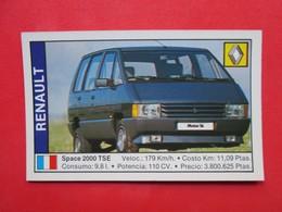 Trading Card (Cromo) - Renault Space 200 TSE - Nº 146 - Col. Coches 89 - Ed. Cusco 1988 - (Spain) / France - Automobili