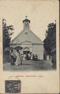 YT Groupe 32 Réunion CAD St Denis Réunion CAD Réunion Bras Panon L'église - Réunion (1852-1975)