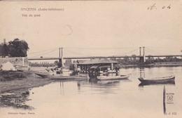 [44] Loire Atlantique > Ancenis Vue Du Pont  Précurseur - Ancenis